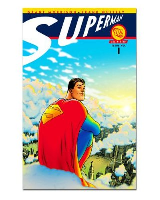 Ímã Decorativo Capa de Quadrinhos Superman - CQD154