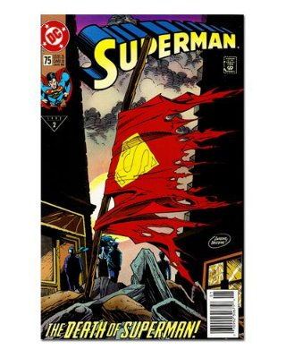 Ímã Decorativo Capa de Quadrinhos Superman - CQD159
