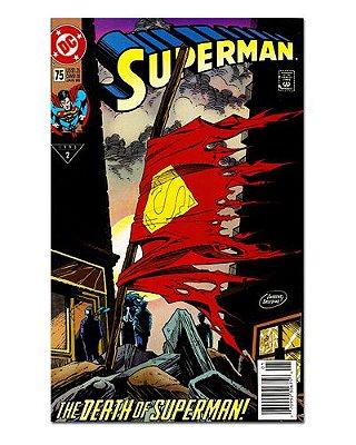 Ímã Decorativo Capa de Quadrinhos Superman - CQD159