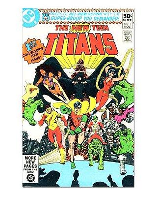 Ímã Decorativo Capa de Quadrinhos Teen Titans - CQD162