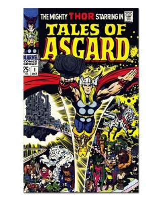 Ímã Decorativo Capa de Quadrinhos Thor - CQM182