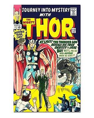 Ímã Decorativo Capa de Quadrinhos Thor - CQM185