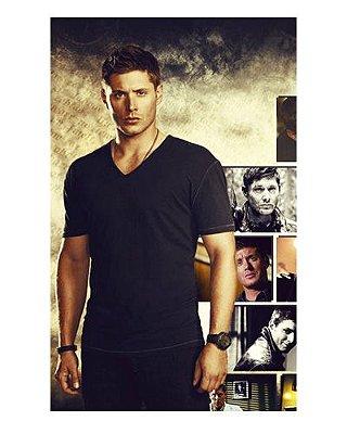 Ímã Decorativo Dean Winchester - Supernatural - IMSP13