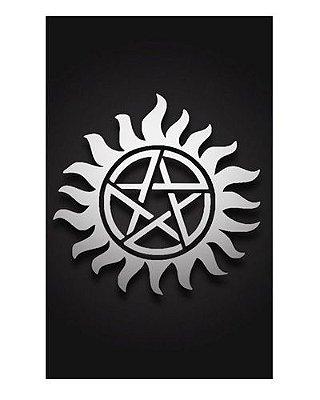 Ímã Decorativo Símbolo Anti-Possessão - Supernatural - IMSP21