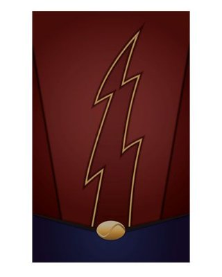 Ímã Decorativo Flash Terra 2 - The Flash - IQD14