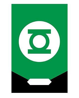 Ímã Decorativo Lanterna Verde - Justice League - IQD37