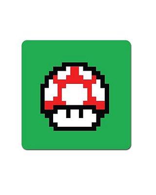 Ímã Decorativo Cogumelo Vermelho - Super Mario - IMB15