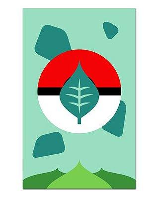 Ímã Decorativo Bulbassauro - Pokémon - IAN33