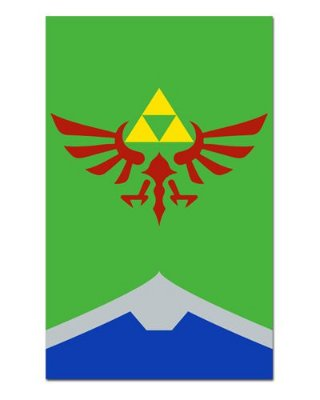 Ímã Decorativo Triforce - The Legend of Zelda - IGA01