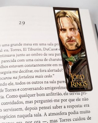 Marcador De Página Magnético Aragorn - O Senhor dos Anéis - MFI105