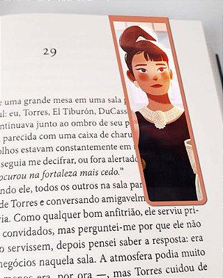 Marcador De Página Magnético Audrey Hepburn - MFI150