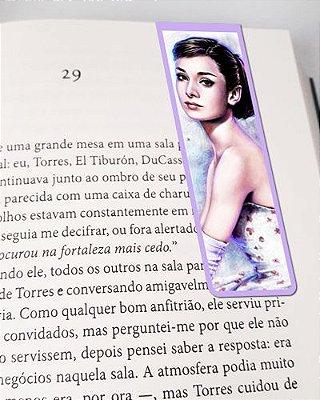 Marcador De Página Magnético Audrey Hepburn - MFI151