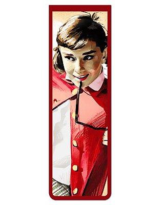 Marcador De Página Magnético Audrey Hepburn - MFI153