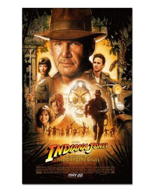Ímã Decorativo Pôster Indiana Jones - IPF64