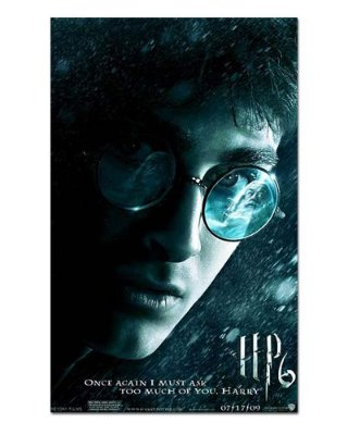 Ímã Decorativo Pôster Harry Potter 6 - IPF18