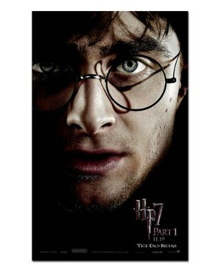 Ímã Decorativo Pôster Harry Potter 7 - IPF304