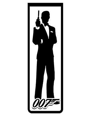 Marcador De Página Magnético James Bond - 007 - MFI189
