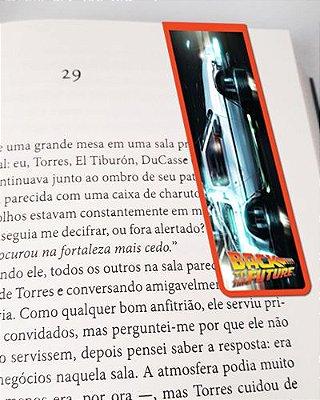 Marcador De Página Magnético DeLorean - De Volta Para o Futuro - MFI196