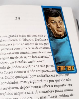 Marcador De Página Magnético McCoy - Star Trek - MFI220