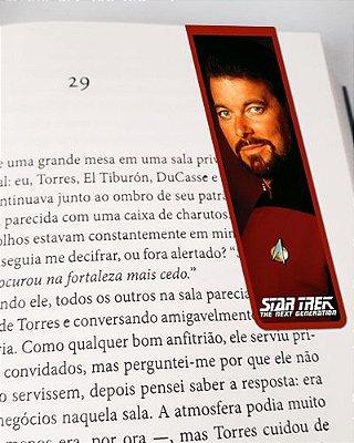 Marcador De Página Magnético Riker - Star Trek - MFI226