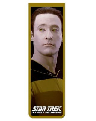 Marcador De Página Magnético Data - Star Trek - MFI228