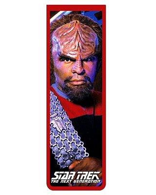 Marcador De Página Magnético Worf - Star Trek - MFI232