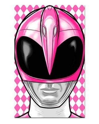Ímã Decorativo Ranger Rosa - Power Rangers - ITOK06