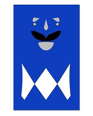 Ímã Decorativo Ranger Azul - Power Rangers - ITOK09