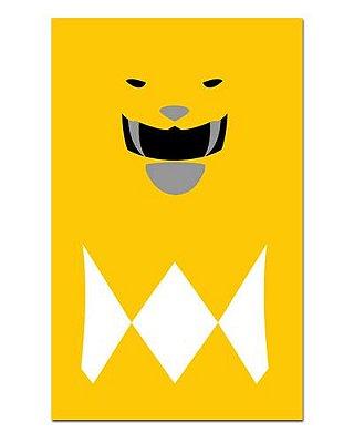 Ímã Decorativo Ranger Amarelo - Power Rangers - ITOK12