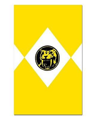 Ímã Decorativo Ranger Amarelo - Power Rangers - ITOK19