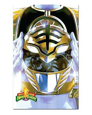 Ímã Decorativo Ranger Branco - Power Rangers - ITOK29