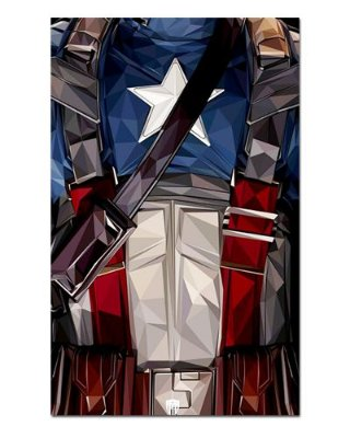 Ímã Decorativo Capitão América - Marvel Comics - IQM47