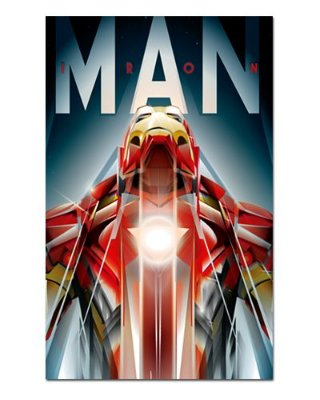 Ímã Decorativo Homem de Ferro - Marvel Comics - IQM50