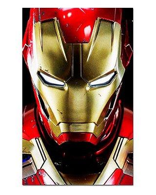 Ímã Decorativo Homem de Ferro - Marvel Comics - IQM52