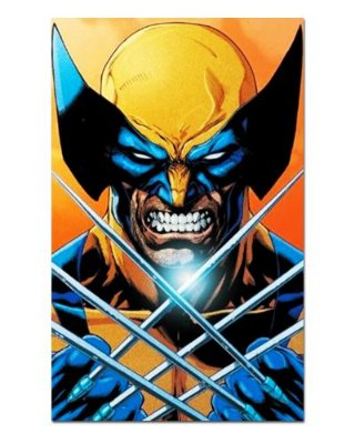 Ímã Decorativo Wolverine - Marvel Comics - IQM55