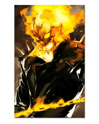 Ímã Decorativo Ghost Rider - Marvel Comics - IQM79