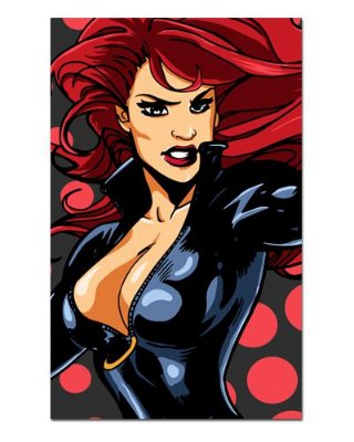 Ímã Decorativo Black Widow - Marvel Comics - IQM67