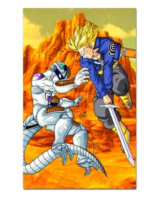 Ímã Decorativo Trunks vs Freeza - Dragon Ball - IDBZ04