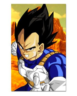 Ímã Decorativo Vegeta - Dragon Ball - IDBZ06