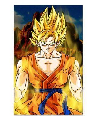 Ímã Decorativo Goku SSJ - Dragon Ball - IDBZ07