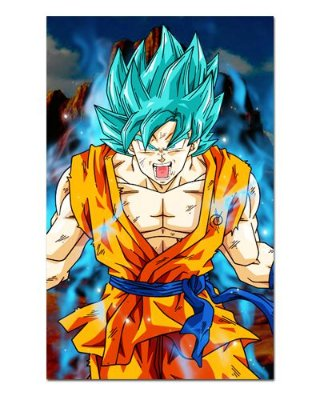Ímã Decorativo Goku SSJ God Blue - Dragon Ball - IDBZ08