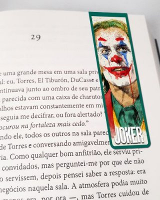 Marcador De Página Magnético Joker - MDC168