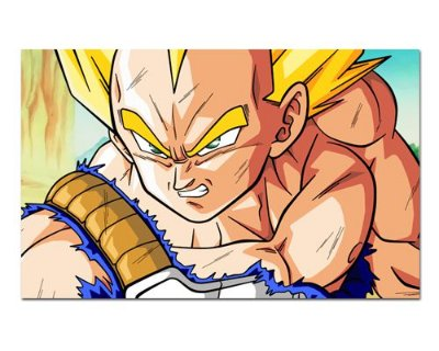 Ímã Decorativo Vegeta SSJ - Dragon Ball - IDBZ20