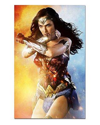 Ímã Decorativo Mulher-Maravilha - DC Comics - IQD92