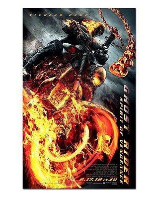 Ímã Decorativo Pôster Ghost Rider 2 - IPF21