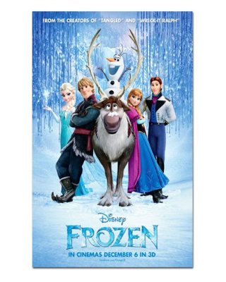 Ímã Decorativo Pôster Frozen - IPF24