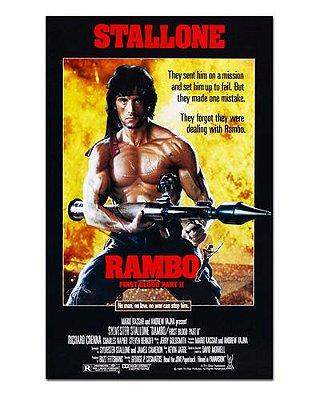 Ímã Decorativo Pôster Rambo II - IPF436