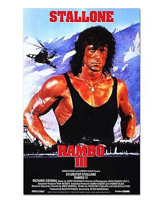 Ímã Decorativo Pôster Rambo III - IPF377