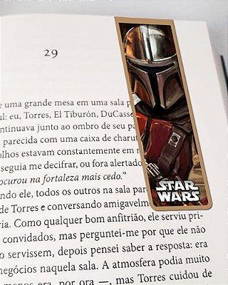 Marcador De Página Magnético Mandaloriano - Star Wars - MFI247