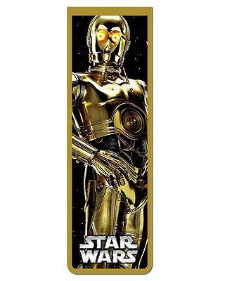 Marcador De Página Magnético C-3PO - Star Wars - MFI255